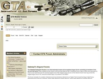 Thumbshot of Gatewaytoairguns.org