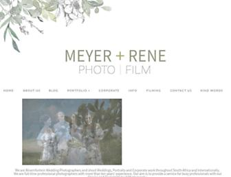meyerandrene.com screenshot