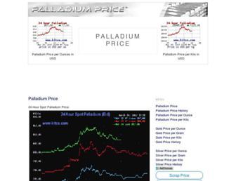 Thumbshot of Palladiumprice.org