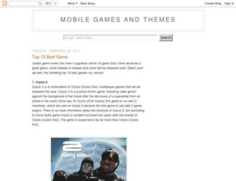 se-games-themes.blogspot.com screenshot