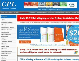 Thumbshot of Cplonline.com.au