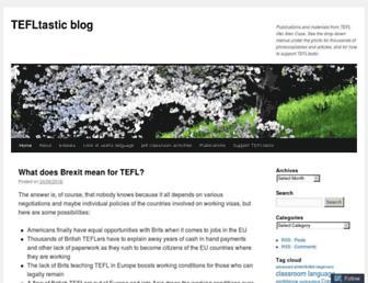 tefltastic.wordpress.com screenshot