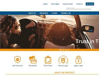 grinnellmutual.com screenshot