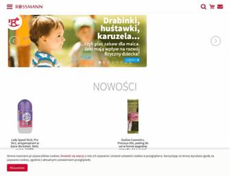 Main page screenshot of rossnet.pl