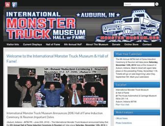 monstermuseum.org screenshot