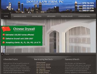 Thumbshot of Doylefirm.com