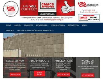 cma.org.za screenshot