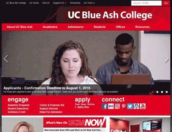 ucblueash.edu screenshot