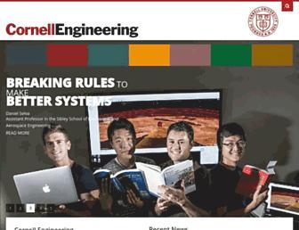 engineering.cornell.edu screenshot