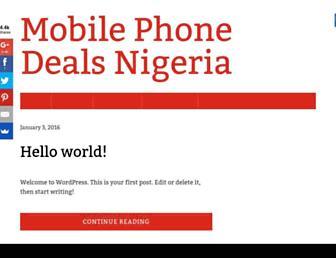 mobilephone-deals.net screenshot