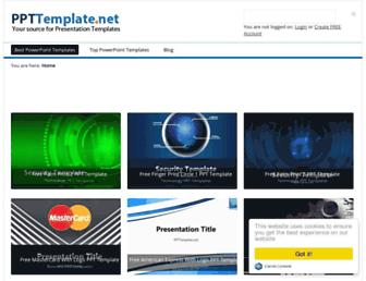 ppttemplate.net screenshot
