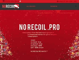 norecoil.pro screenshot