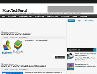 microtechportal.blogspot.com screenshot