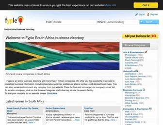 Thumbshot of Fyple.co.za