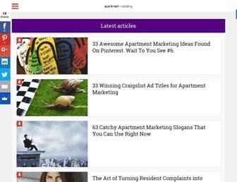apartment-marketing.com screenshot