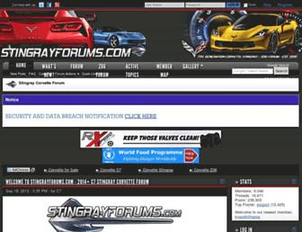 stingrayforums.com screenshot