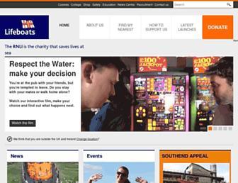 Thumbshot of Rnli.org