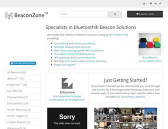 beaconzone.co.uk screenshot