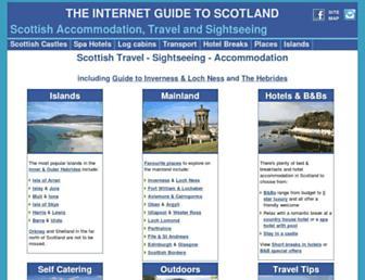 Main page screenshot of scotland-inverness.co.uk