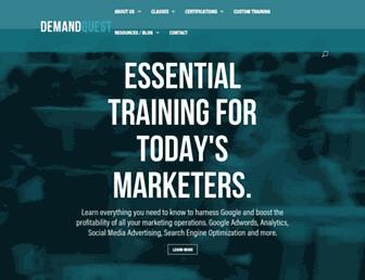demandquest.com screenshot