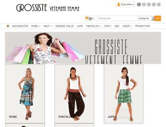grossiste-vetement-femme.com screenshot