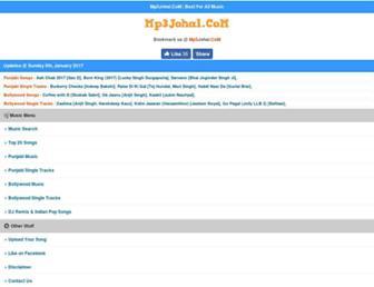 mp3johal.com screenshot