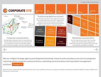 corporate-eye.com screenshot