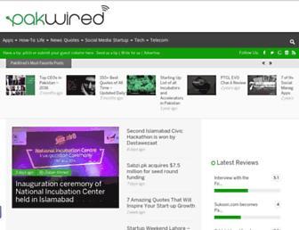 pakwired.com screenshot