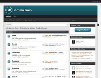 liftgammagain.com screenshot