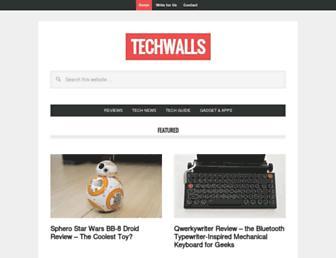techwalls.com screenshot