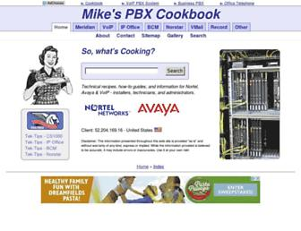 pbxbook.com screenshot
