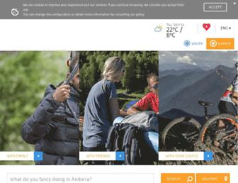 visitandorra.com screenshot