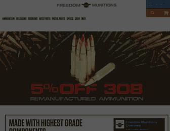 Thumbshot of Freedommunitions.com