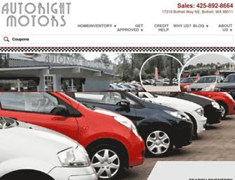 autorightmotors.com screenshot