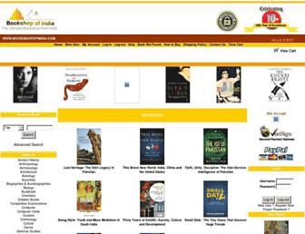 Thumbshot of Bookshopofindia.com