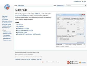 cuetools.net screenshot