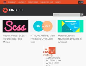 mrbool.com screenshot