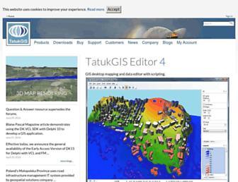 tatukgis.com screenshot