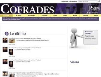 cofrades.sevilla.abc.es screenshot