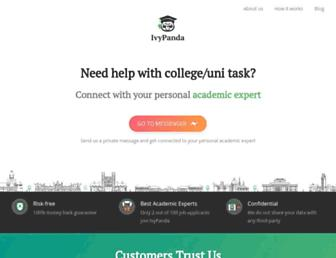 ivypanda.com screenshot