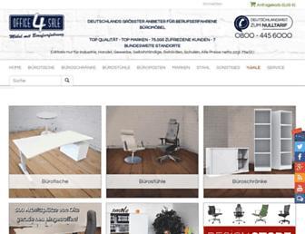 Main page screenshot of office-4-sale.de