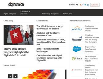 diginomica.com screenshot