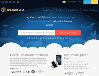 dreamscloud.com screenshot