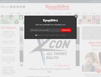 kpopstarz.com screenshot