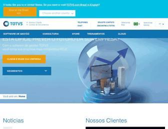 Thumbshot of Totvs.com