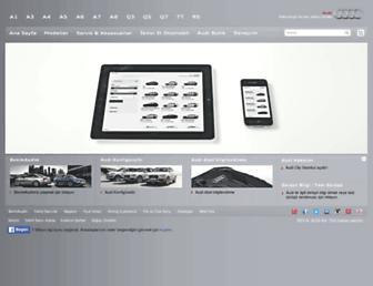 Thumbshot of Audi.com.tr