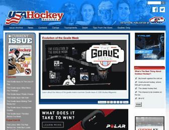 usahockeymagazine.com screenshot