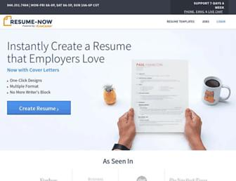 Thumbshot of Resume-now.com