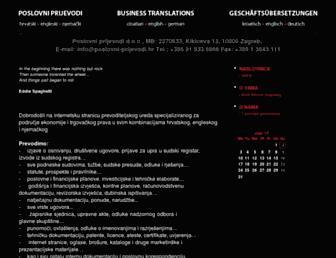poslovni-prijevodi.hr screenshot