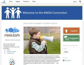 community.nwea.org screenshot